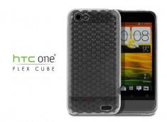 Coque HTC One V Flex Cube