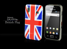 Coque Galaxy Ace British Flag