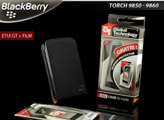 Etui Blackberry Torch 9800 GT + 1 Film protecteur