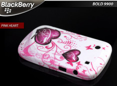 Coque BlackBerry Bold 9900/9930 Pink Heart
