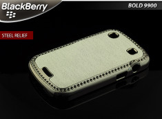 Coque BlackBerry Bold 9900/9930 Steel Relief