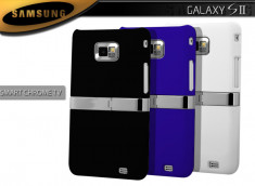 Coque Samsung Galaxy S2 Smart Chrome TV
