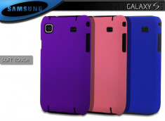 Coque Galaxy S Soft Touch