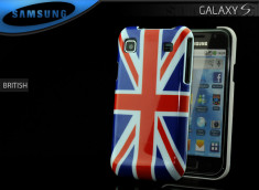 Coque Galaxy S British Flag