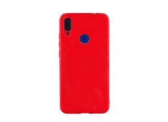 Coque Samsung Galaxy A40 Red Matte Flex