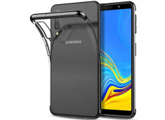Coque Samsung Galaxy A7 2018 Black Flex