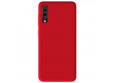 Coque Samsung Galaxy A50 Red Matte Flex