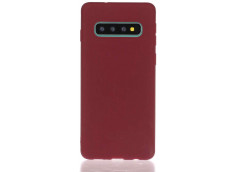 Coque Samsung Galaxy S10 Burgondy Matte Flex