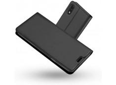 Etui iPhone XR Smart Premium-Gris Anthracite