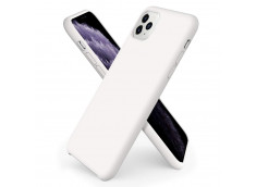 Coque iPhone 11 White Matte Flex