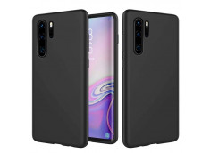 Coque Huawei P30 Pro Black Navy Matte Flex