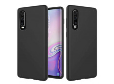 Coque Huawei P30 Black Matte Flex
