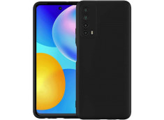 Coque Huawei P Smart 2021 Black Matte Flex-Noir