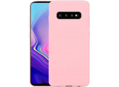 Coque Samsung Galaxy S10 Light Pink Matte Flex