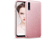Coque Samsung Galaxy A50 Glitter Protect-Rose