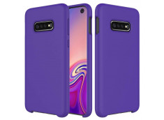 Coque Samsung Galaxy S10 Plus Purple Matte Flex