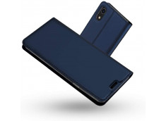 Etui iPhone X/XS Smart Premium-Bleu Marine