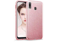 Coque Samsung Galaxy A40 Glitter Protect-Rose