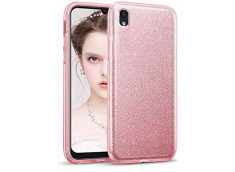Coque Samsung Galaxy A10 Glitter Protect-Rose