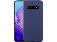 Coque Samsung Galaxy S10 Blue Navy Matte Flex