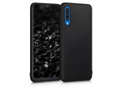Coque Samsung Galaxy A50 Black Matte Flex