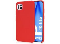 Coque Huawei P40 Lite Red Matte Flex