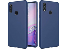 Coque Huawei P Smart 2019 Blue Navy Matte Flex