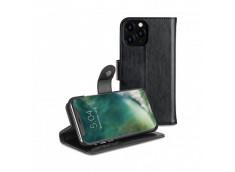 Etui iPhone 11 Pro Max 2 en 1 Luxe Eman-Noir