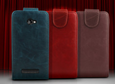 Etui HTC 8X - Flip Leather Color