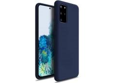 Coque Samsung Galaxy Note 20 Blue Navy Matte Flex