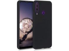 Coque Huawei Y6P Black Matte Flex