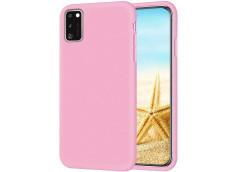 Coque Samsung Galaxy A41 Light Pink Matte Flex