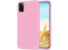 Coque Samsung Galaxy A11 Light Pink Matte Flex
