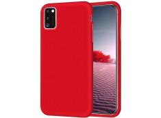 Coque Samsung Galaxy A41 Red Matte Flex