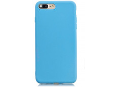 Coque iPhone 7 Plus / iPhone 8 Plus Sky Blue Matte Flex