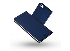 Etui iPhone 5/5S/SE Smart Premium-Bleu Marine
