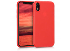Coque iPhone XS Max Red Matte Flex
