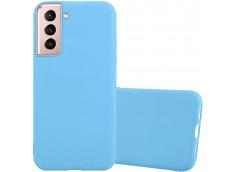 Coque Samsung Galaxy S21 Sky Blue Matte Flex
