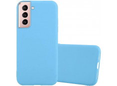 Coque Samsung Galaxy S21 Plus Sky Blue Matte Flex