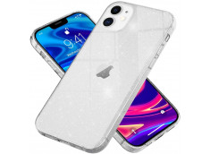 Coque iPhone 12 Pro Max No Shock Glitter Silver