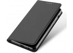 Etui Samsung Galaxy S7 Smart Premium-Gris Anthracite