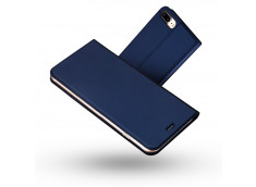 Etui iPhone 7 Plus/iPhone 8 Plus Smart Premium-Bleu Marine