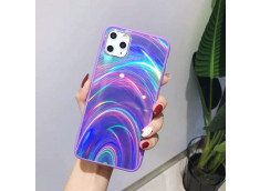 Coque iPhone 7 / iPhone 8/ SE 2020 Laser Protect-Violet