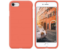 Coque iPhone 7 / iPhone 8/SE 2020 Coral Matte Flex