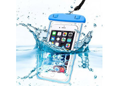 Pochette Waterproof Universelle IPX8-Bleu
