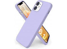 Coque iPhone 12/12 Pro Lila Matte Flex