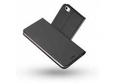 Etui iPhone 5/5S/SE Smart Premium-Gris Anthracite