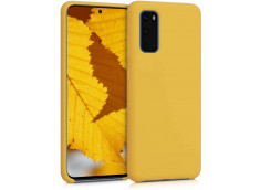 Coque Samsung Galaxy S20 FE Yellow Matte Flex