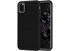 Coque Samsung Galaxy A41 Black Matte Flex