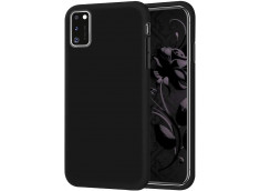 Coque Samsung Galaxy A11 Black Matte Flex